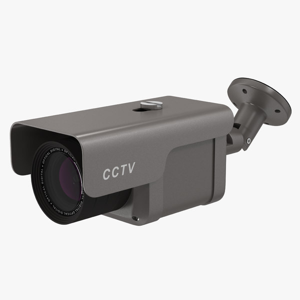 3ds max cctv camera 4
