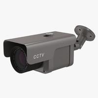 CCTV Camera 4 3D Model