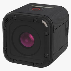 gopro hero 4 session 3d model