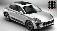 Porsche Macan Turbos S 2015