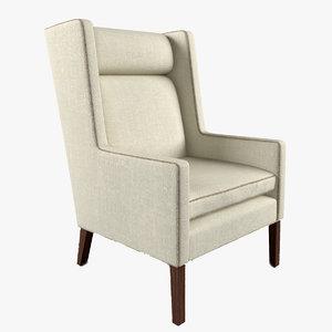 max van wing chair