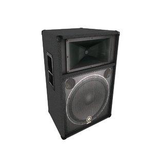 3d yamaha speaker