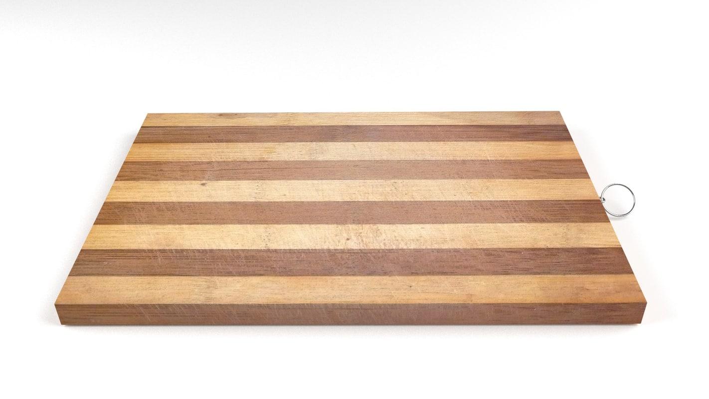 3ds chopping board 3