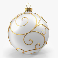 Christmas White Ball 2