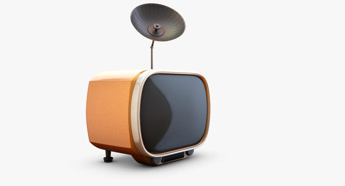 funny tv 3d model
