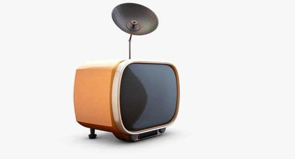 funny tv 3d model