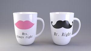3d ceramic mugs