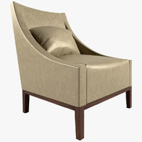 3d model of chair occasional