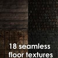 Stone&wooden floor pack