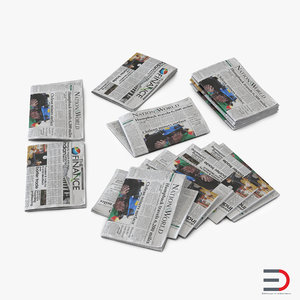 newspapers realistic max