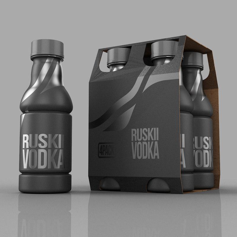 juice plastic bottle 3ds