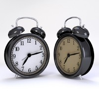 realistic ikea alarm clock 3ds