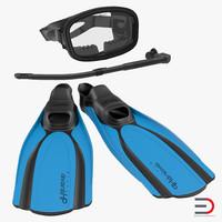 3d scuba 2 snorkel