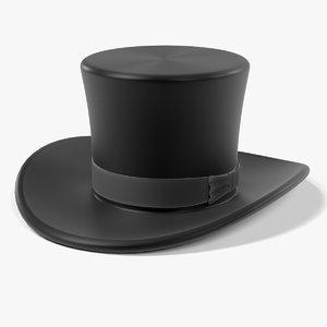 hat tophat 3d model
