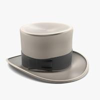 3d hat tophat