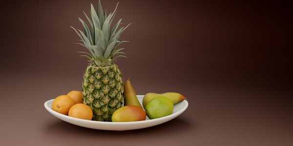 3d model of fruit pack vol 2
