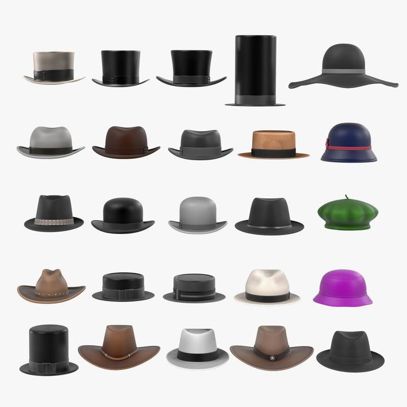 3ds large hats
