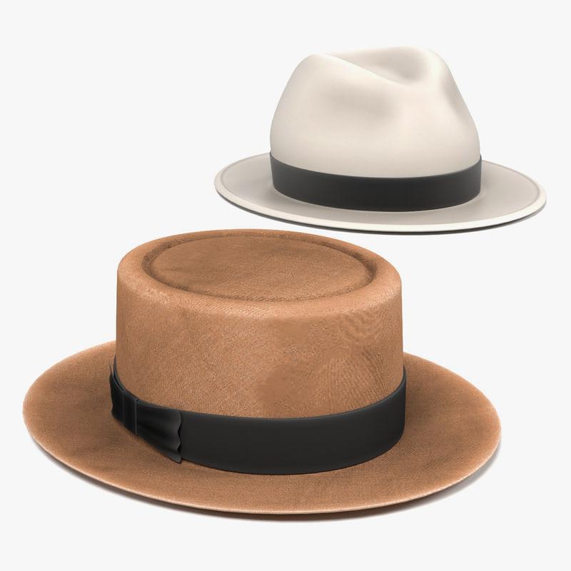 panama hats 3ds