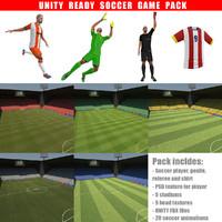 soccer pack 3d max