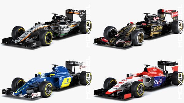 3d force season 2015 formula car model
