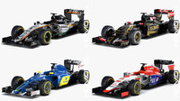 3d force season 2015 formula car model
