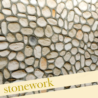 rock paving stone 3d model
