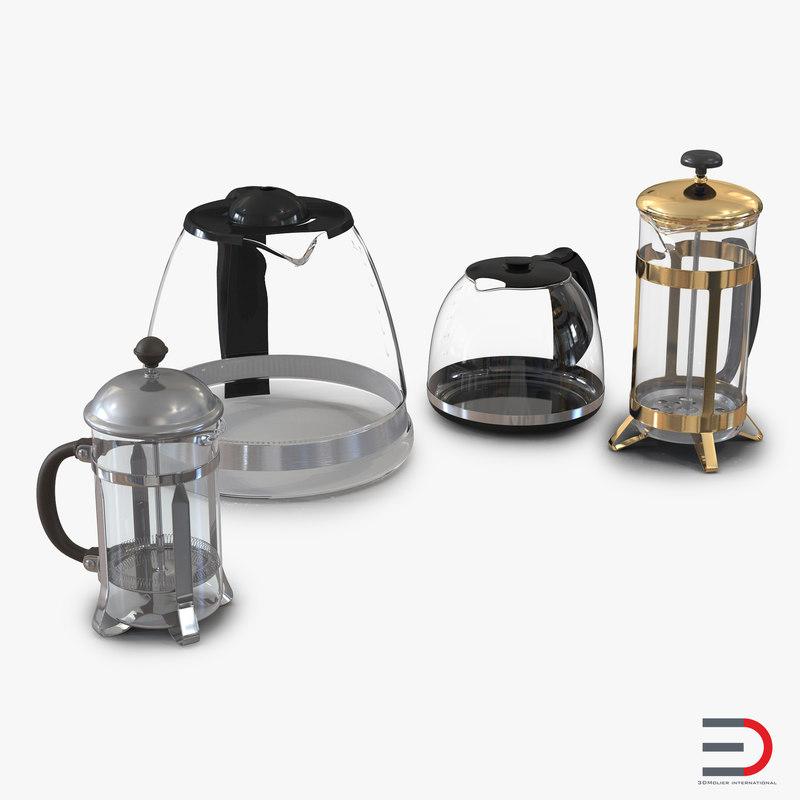coffee pots 3ds
