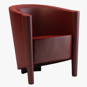 moroso rich armchair 3ds