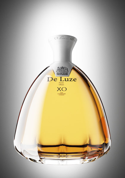 cognac bottle 3ds
