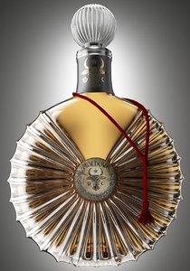 cognac bottle 3d max
