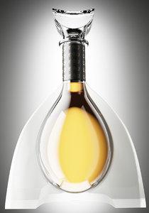 3d cognac bottle s