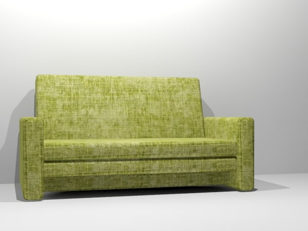 free comfortable couch modern 3d model