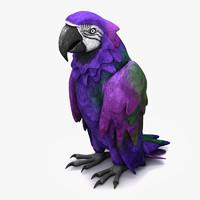 3d parrot species