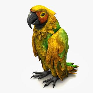 parrot species 3ds