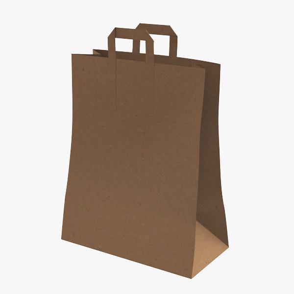 3d max paper bag