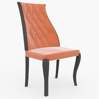3d model of dinning chair