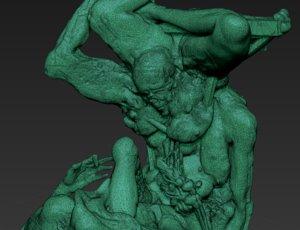 3d metamorphic sculpture