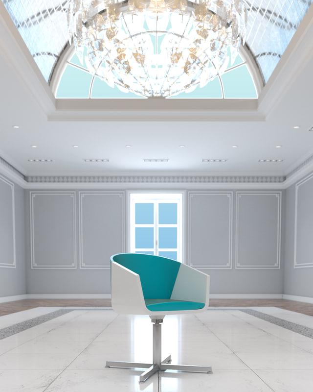 modern fling guest chair max