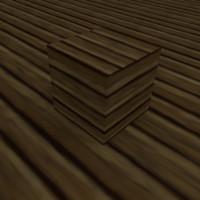 Cartoon Wood Planks