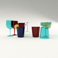 pottery barn drink 3d max