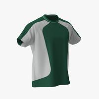 3d tshirt green