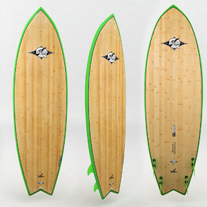 surfboard wood green board max
