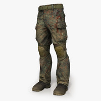 Soldier Trousers & Boots
