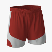 Soccer Shorts Red