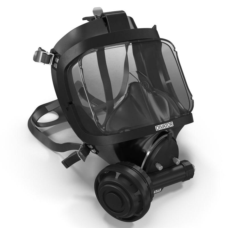3d scuba mask 3