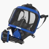 3d scuba mask 3 generic model
