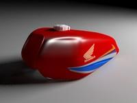 honda fuel tank 3d model