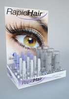 Display for hair volumizer