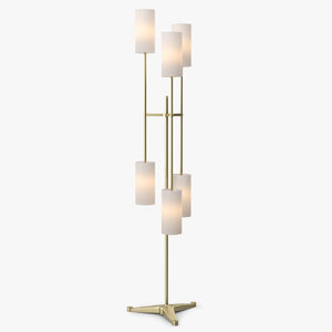 pugil floor lamp light 3d obj