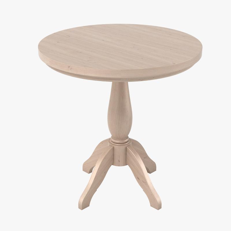 3d model of neptune henley table